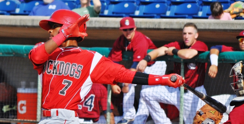 "Quick Takes: Team: Miami Marlins Twitter: @_MaeDay20Height: 5' 9"", Weight: 175 lb. Born: January 11, 1993 in Conyers, Georgia  Drafted:  Miami Marlins in the 19th round of the 2014 MLB June Amateur Draft"