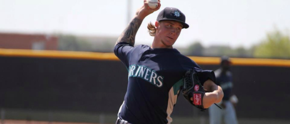 "Quick Takes: Team: Seattle Mariners Twitter: @dylansharkieHeight: 6'1"", Weight: 175 lb. Born: September 23, 1992 in Durban, South Africa  Signed:  Seattle Mariners as an International Free Agent"