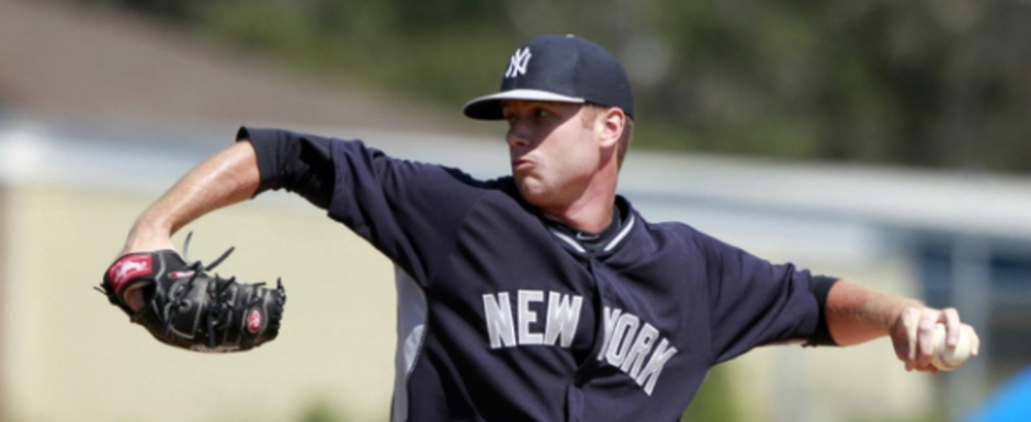 "Quick Takes:  Team: New York Yankees  Twitter: @Twebb38  Height: 6' 6"", Weight: 225 lb. Born: July 20, 1990 in Nassawadox, Virginia  Drafted: New York Yankees in the 10th round of the 2013 MLB June Amateur Draft"