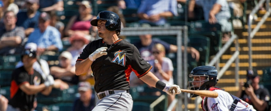 "Quick Takes:  Team: Florida Marlins   Twitter:   Height: 5'11"", Weight: 195 lb. Born: May 11th, 1993 in St . Augustine, Florida  Drafted: Florida Marlins  in the 3rd round of the 2012 MLB June Amateur Draft"